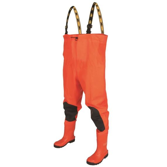 "Chest Waders ""Max S5"" Fluo orange"